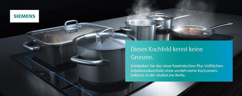 Vollflachen Induktionskochfeld Von Siemens Kuchenstudio Baesweiler