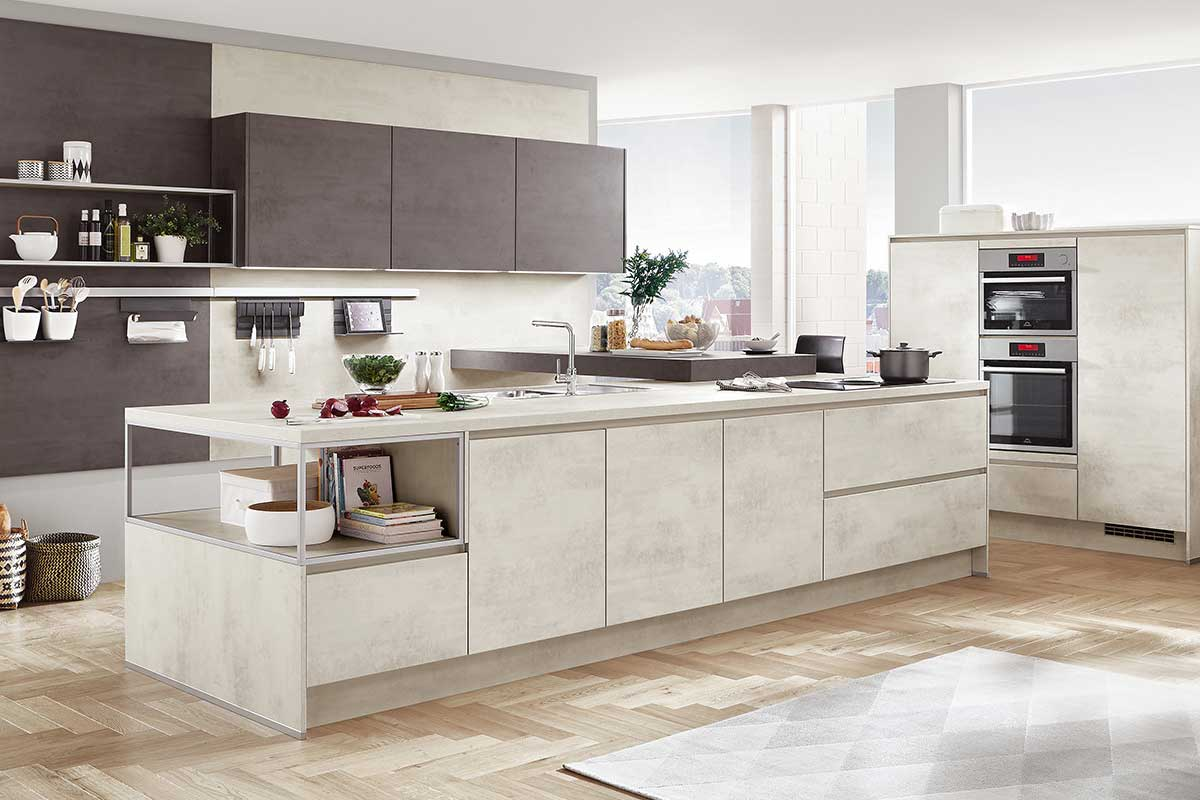 Moderne Küche moderne küche küchenstudio baesweiler küchentreff aachen küche kaufen